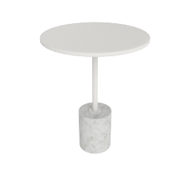 Jey Table, White