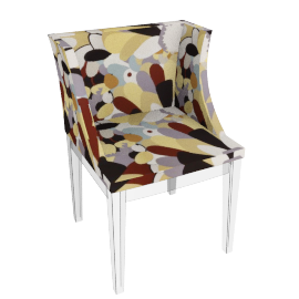 Philippe Starck for Kartell Mademoiselle Missoni Chair