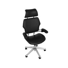 Freedom Task Chair w/Headrest - Prima Leather