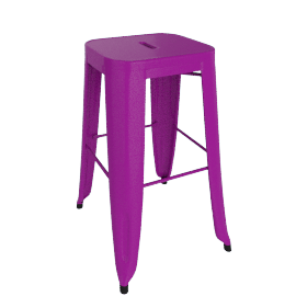 Marais Counter Stool - Plum