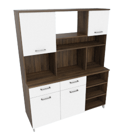 Prometheus 2-Drawer Display Cabinet