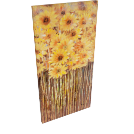 Row of sunflowers Oil Painting