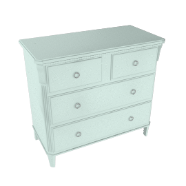 Louisa 4 Drawer Chest, Celadon