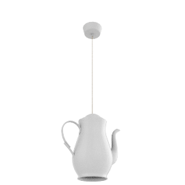 Original BTC Coffee Pot Pendant
