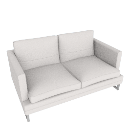 Corsica 2-Seater Sofa, Grey White