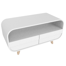 Esme compect media unit, white