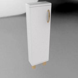 Mini Malibu CD Cupboard, White
