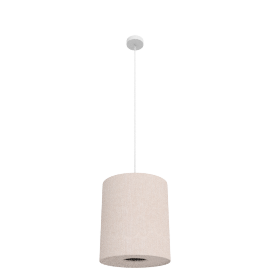Easy-to-fit Libby Pendant, Cream, Small