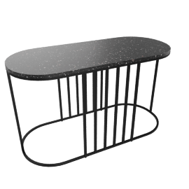 Posea Side Table, Quartz