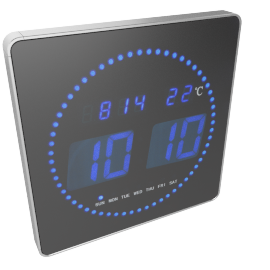Chronos LED Wall Clock