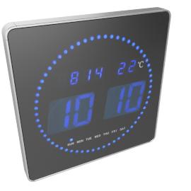 Chronos LED Wall Clock