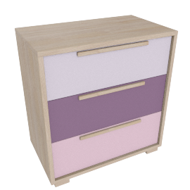 Bekka 3 Drawer Chest