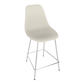 Eames Molded Fiberglass Counter Stool