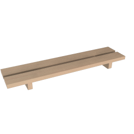 Hinoki Tub Bench
