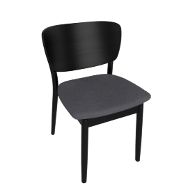 Valencia Chair, Charcoal