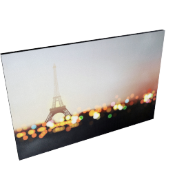 Paris in the Lights Wall Art - 60x2.5x90 cms