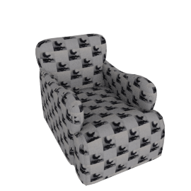 Arm Chair in Fornasetti