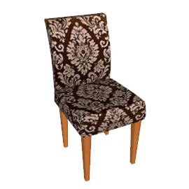 Felix Chair, Dark Brown