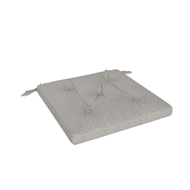 Olivia Chair Pad, Grey
