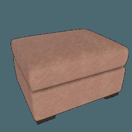 Portola Ottoman - Leather