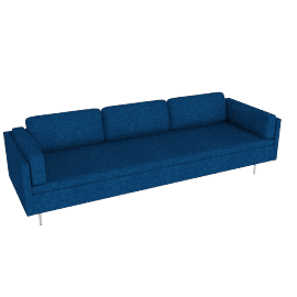 Bolster Sofa in Fabric