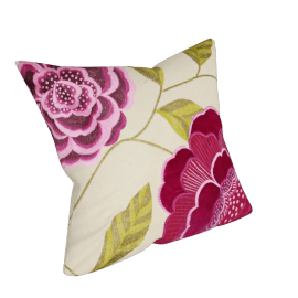 John Lewis Purple Bloom Cushion