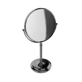 Chrome Stand Mirror