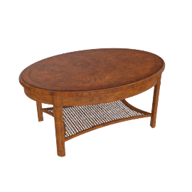 Hemingway Oval Coffee Table