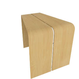 Gemini Unison Table, Natural