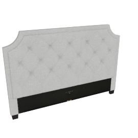 Stellar Neo King Headboard, Grey