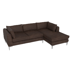 Albert Sectional Chaise Left - Sierra