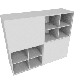 Forma Small Hutch, Light Grey