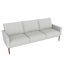 Raleigh Sofa - Powder Leather