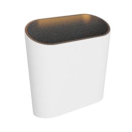 Modular Lighting Trapz, white structured/champage