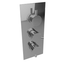 Three Way Thermostatic Shower Valve