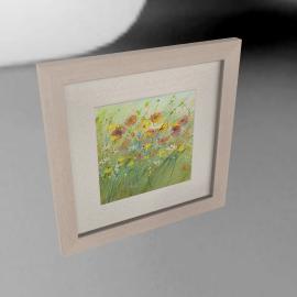 Sue Fenlon- Summer Poppies Framed Print, 35 x 35cm