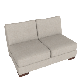 Signature 2 Seater Armless, Sand
