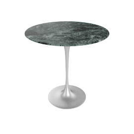 Saarinen Side Table - Coated Marble 2 - Plt.VerdeAlpi