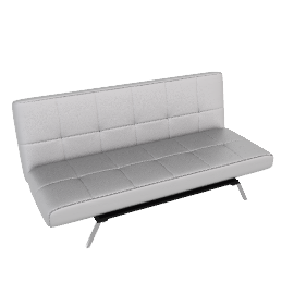 Argent Sofa Bed, Silver