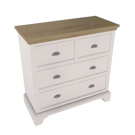 John Lewis Downton 4 Drawer Chest