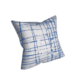 Solara Filled Cushion - 45x45 cms, Blue