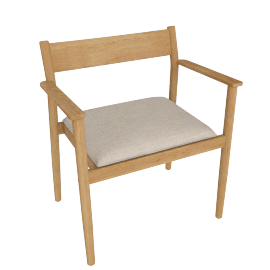 Terassi Armchair, Papyrus