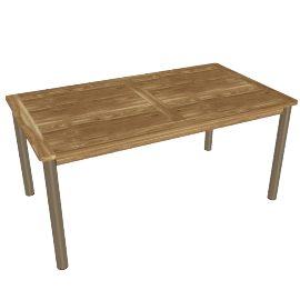 Fiji Rectangular Garden Table