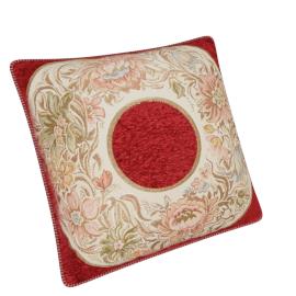 Majolika Jacquard Cushion - 56x56 cms