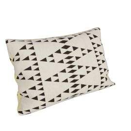 Diamond Pyramids Cushion