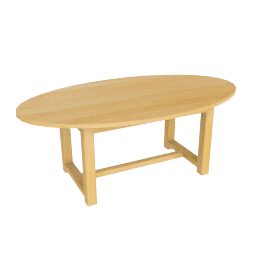 Dordogne Oval Extending Dining Table