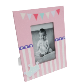 Princess Photo Frame - 4x6 inches