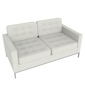 Florence Knoll Two Seater - Volo Leather