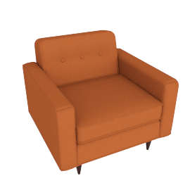 Bantam Armchair, Cotton Twill, Autumn