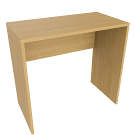 Abacus Small Desk, Oak